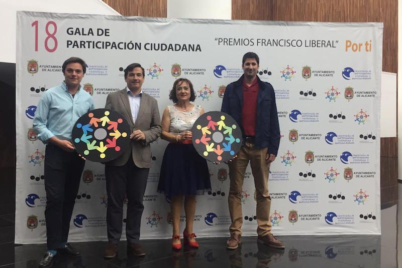 Participació en els XVIII Premis Francisco Liberal