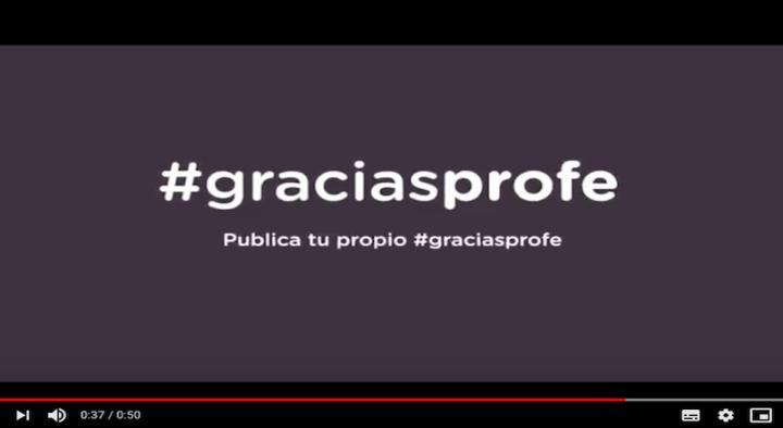 El proyecto Gracias Profe aumenta su impacto