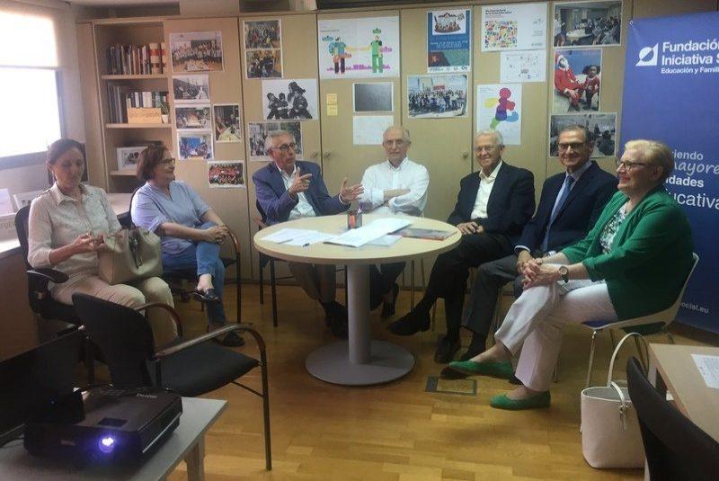 Reunión de los miembros del Patronato de Gobierno