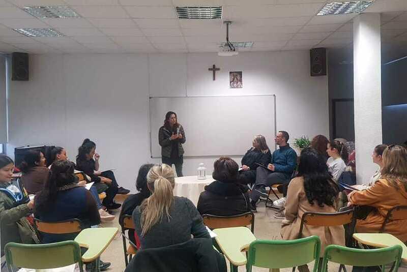 Escola de Famílies arriba al barri de la Fuensanta
