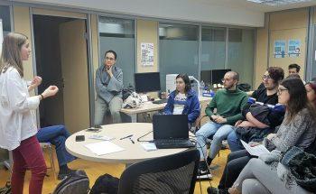 Reunión de coordinación del voluntariado en el aula