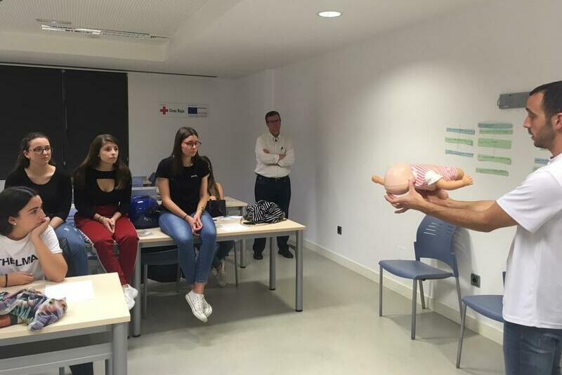 Primeros Auxilios para el equipo voluntario de Alicante