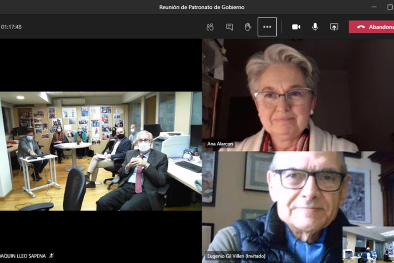Reunión de Patronato: una mirada ilusionada al 2021