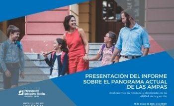 Presentació de l'informe de participació en AMPAS