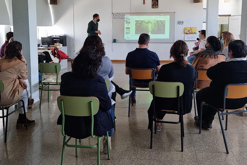 Escola de famílies en el col·legi Jesús-María Fuensanta