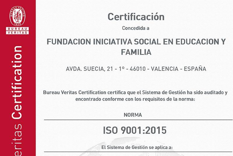 Llega la ISO 9001 para acreditar la calidad del servicio
